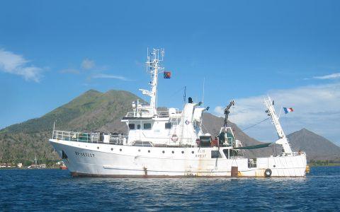 Le navire océanographique Alis