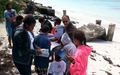 Explorateurs juniors de l'îles des Pins