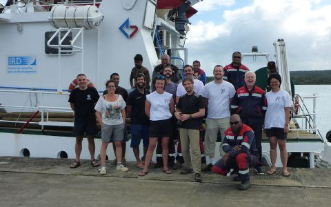 Participants à l'expédition Kanacono